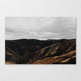 Inhalexhale Canvas Print