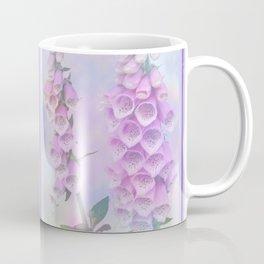 Pastel painterly foxgloves Coffee Mug