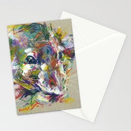 Vénielle the rat I Stationery Cards