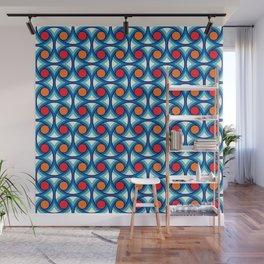 Geometric Pattern 169 (retro summer) Wall Mural