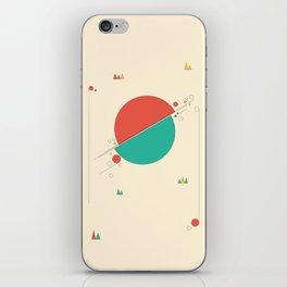 Circles and Angles iPhone Skin