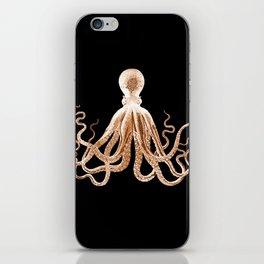 Octopus sea nautical beach coastal iPhone Skin