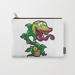 HAPPY VENUS FLYTRAP carnivorous plant funny gift Carry-All Pouch