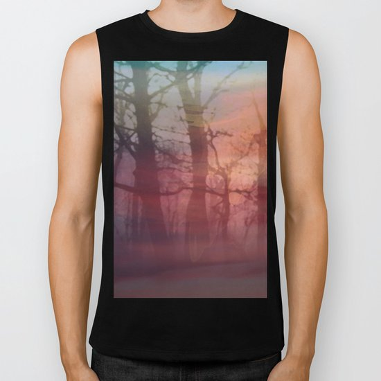 twilight forest Biker Tank