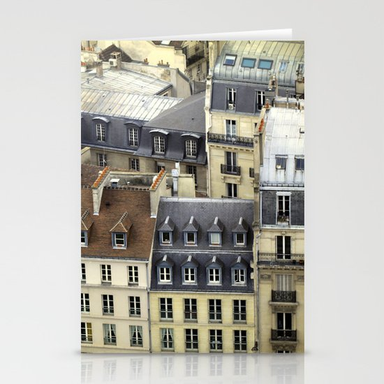 Paris Rooftop #2 Stationery Cards