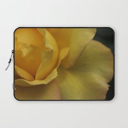 Yellow rose after the rain. Laptop Sleeve