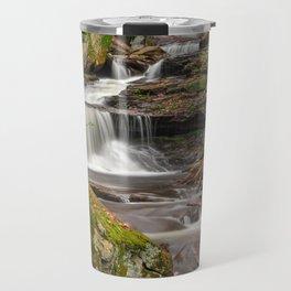 Ricketts Glen Waterfall Layers Travel Mug