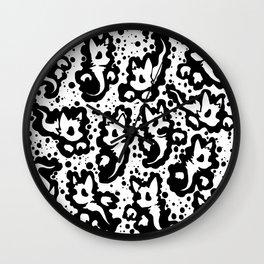 MOAR CATS 'N' STUFF Wall Clock