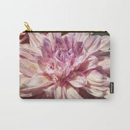 Marbled Dahlia, No. 1 Carry-All Pouch