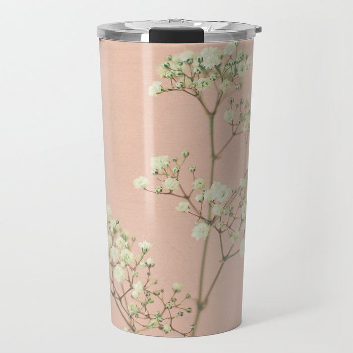 Baby's Breath Travel Mug