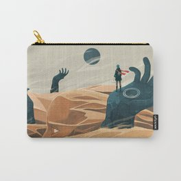 The wanderer and the desert portals Carry-All Pouch