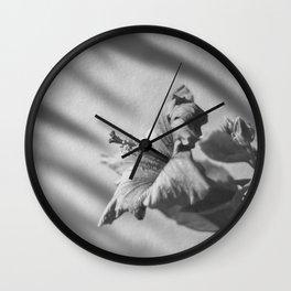 Flor del pacífico (hibiscus) Wall Clock