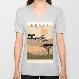 Kenya Exhibition Unisex V-Neck