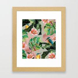 Bird Sanctuary Framed Art Print