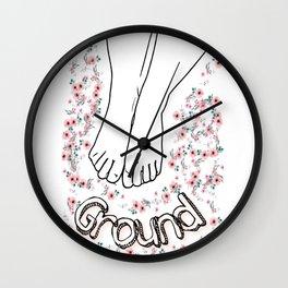 ground Wall Clock