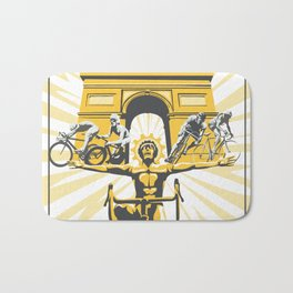Le Grande Boucle Tour de France Bath Mat