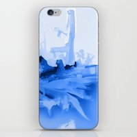 iceland iPhone & iPod Skins featuring Iceland by Lavigne Drawings