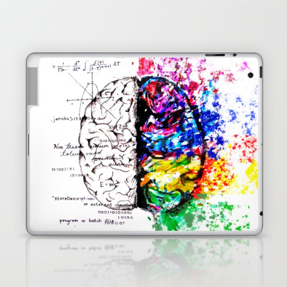Conjoined Dichotomy Laptop & iPad Skin