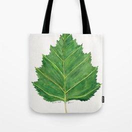 Birch leaf Tote Bag