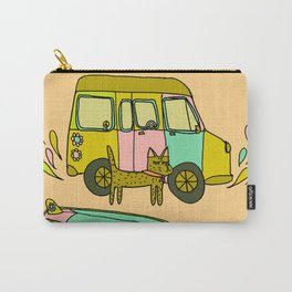 Surf Adventure Van Carry-All Pouch