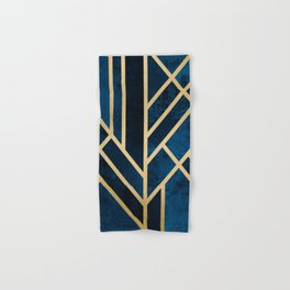 Art Deco Midnight Hand & Bath Towel