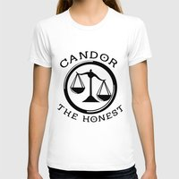 divergent T-shirts featuring Divergent - Candor The Honest by Lunil
