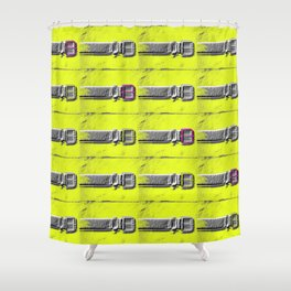 JETSON'S BELT 38352 Shower Curtain