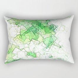 square fantasy creeper Rectangular Pillow