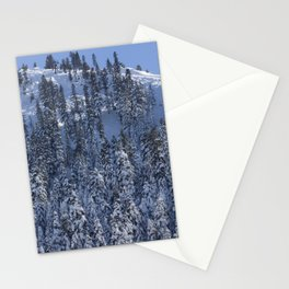 Snowy Mountain Stationery Cards