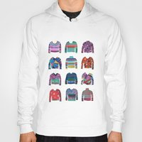 sweater Hoodies featuring Sweater Poster by Valeriya Volkova
