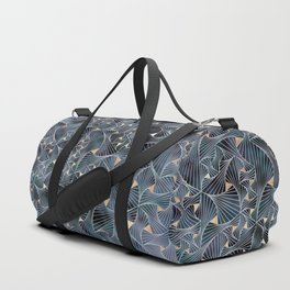 Reverie (in Grey and Gold) Duffle Bag