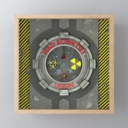Mad Scientist Union Framed Mini Art Print