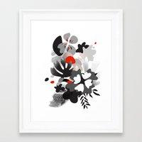 scandinavian Framed Art Prints featuring scandinavian nature by Lucja