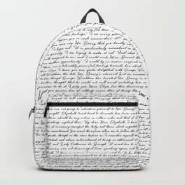 Pride and Prejudce Netherfield Ball Backpack