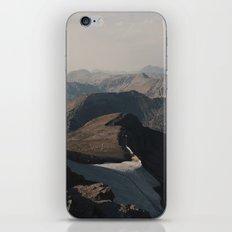 Mountain Layers in the Wyoming Wilderness iPhone & iPod Skin