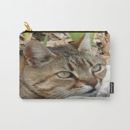 Tabby Cat Portrait Carry-All Pouch