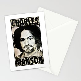 Manson Family - In love we trust Stationery Cards