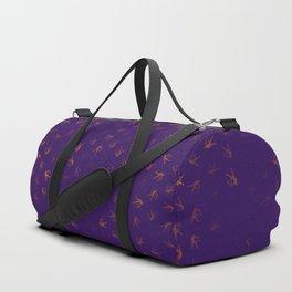 libra zodiac sign pattern po Duffle Bag