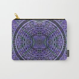 Zentangle Mandala Carry-All Pouch