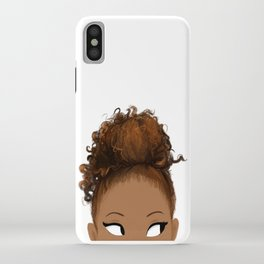 Peek iPhone Case