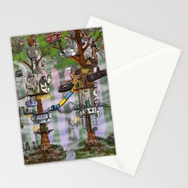 Modern Pixie Kingdom Stationery Cards