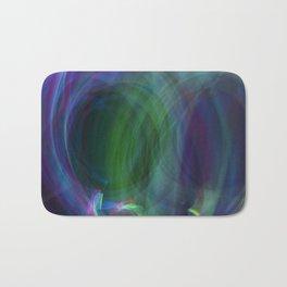 Circular Motion LightPainting Bath Mat