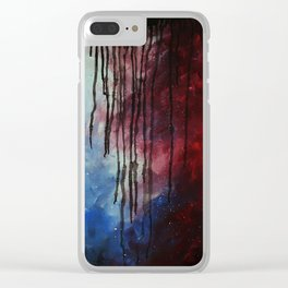 Deceit Clear iPhone Case