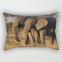 Elephant Pair Rectangular Pillow