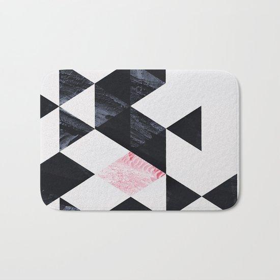 Geometry #1 Bath Mat