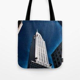 Empire State Building w/sky Tote Bag
