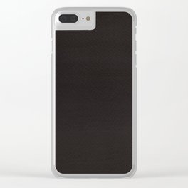 Hand painted DW-M black color Clear iPhone Case