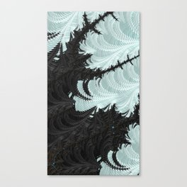 ABSTRACT.ALIENWINTER Canvas Print