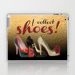 I Collect Shoes High Heels Pumps Stilettos Laptop & iPad Skin