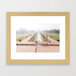 From the Taj Framed Art Print